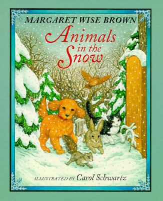 Cover image for Animals in the snow