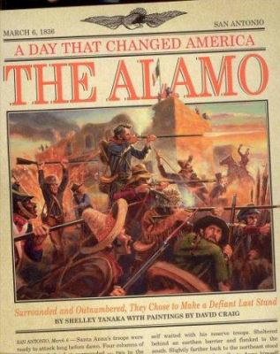 Cover image for The Alamo : surrounded and outnumbered, they chose to make a defiant last stand