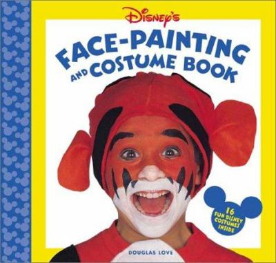 Cover image for Disney's face-painting and costume book