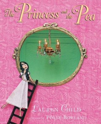 Cover image for The princess and the pea in miniature : after the fairy tale by Hans Christian Andersen