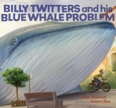 Cover image for Billy Twitters and his blue whale problem
