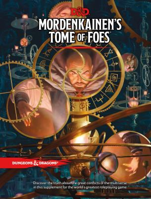Cover image for Mordenkainen's tome of foes