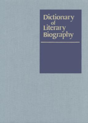 Cover image for Twentieth-century American dramatists. Second series