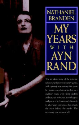Cover image for My years with Ayn Rand