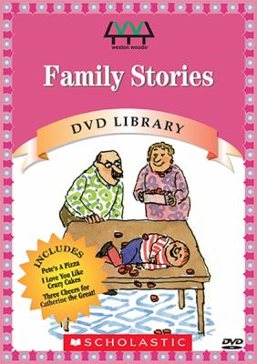 Cover image for Family stories
