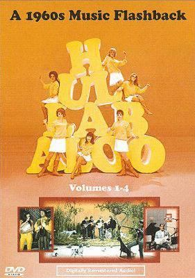 Cover image for Hullabaloo a 1960s music flashback. Volumes 1-4