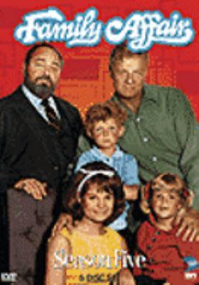 Cover image for Family affair. Season five