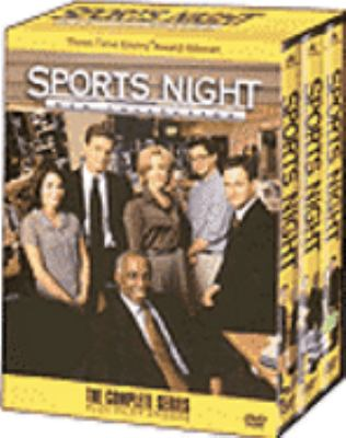 Cover image for Sports night DVD collection the complete series plus pilot episode