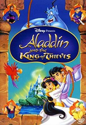 Cover image for Aladdin and the king of thieves