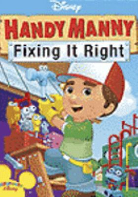 Cover image for Handy Manny. Fixing it right