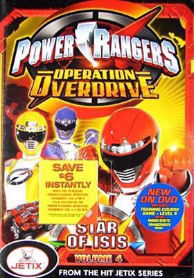 Cover image for Power Rangers operation overdrive. Volume 4, Star of Isis