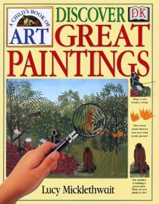 Cover image for A child's book of art : discover great paintings