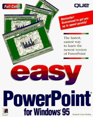 Cover image for Easy Powerpoint for Windows 95