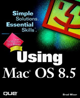 Cover image for Using MAC OS 8.5