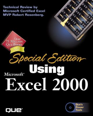 Cover image for Using Microsoft Excel 2000