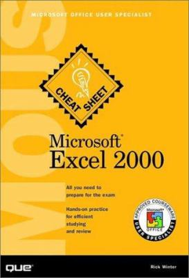 Cover image for Microsoft Excel 2000 : MOUS cheat sheet