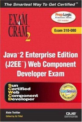 Cover image for Java 2 enterprise edition (J2EE) Web component developer exam