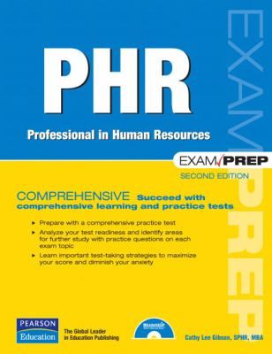 Cover image for PHR exam prep: professional in human resources