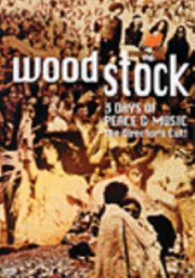 Cover image for Woodstock 3 days of peace & music