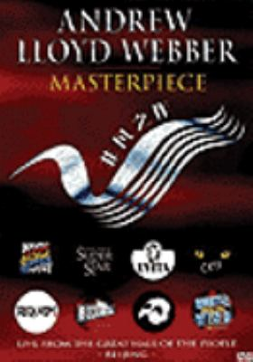 Cover image for Masterpiece Andrew Lloyd Webber.