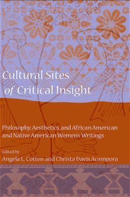 Cover image for Cultural sites of critical insight : philosophy, aesthetics, and African American and Native American women's writings