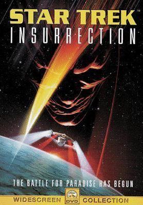 Cover image for Star trek insurrection