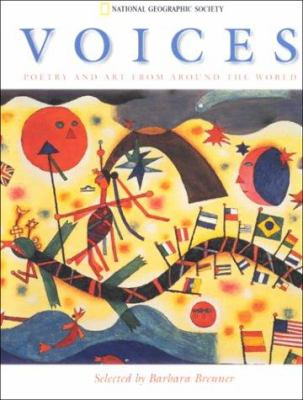 Cover image for Voices : poetry and art from around the world