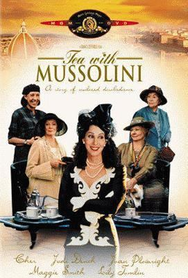 Cover image for Tea with Mussolini