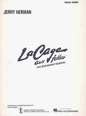 Cover image for La cage aux folles : the Broadway musical