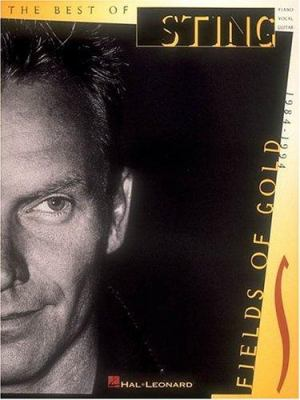 Cover image for Fields of gold the best of Sting, 1984-1994.