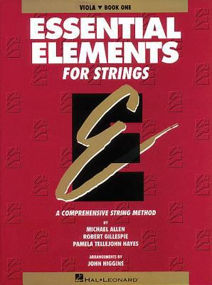 Cover image for Essential elements for strings. Book one: viola : a comprehensive string method