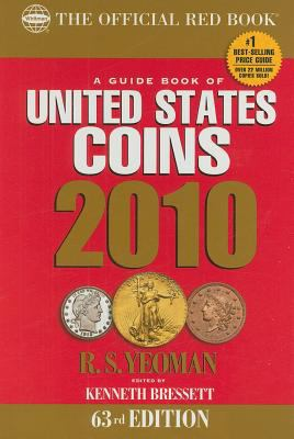 Cover image for A guide book of United States coins, 2010