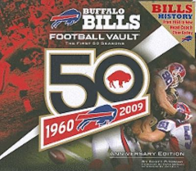 Cover image for The Buffalo Bills football vault : the first 50 seasons