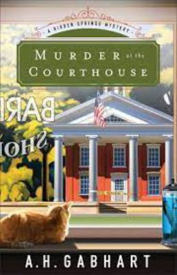 Cover image for Murder at the courthouse