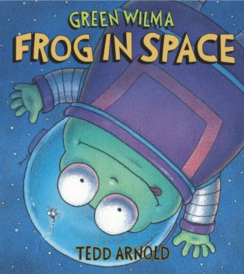 Cover image for Green Wilma, frog in space