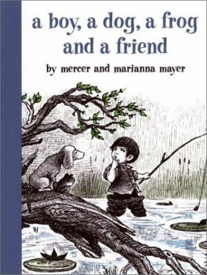 Cover image for A boy, a dog, a frog, and a friend