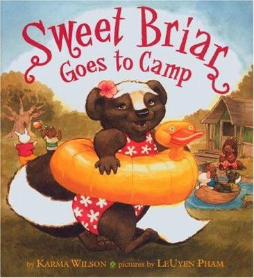 Cover image for Sweet Briar goes to camp
