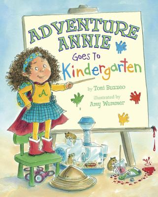 Cover image for Adventure Annie goes to kindergarten