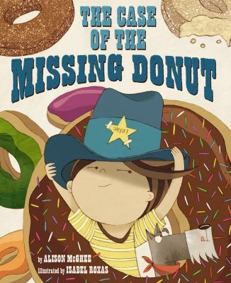 Cover image for The case of the missing donut