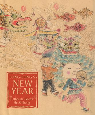 Cover image for Long-Long's New Year : a story about the Chinese spring festival