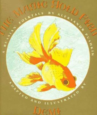 Cover image for The magic gold fish : a Russian folktale