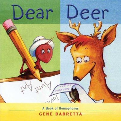 Cover image for Dear deer : a book of homophones