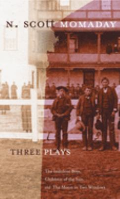 Cover image for Three plays