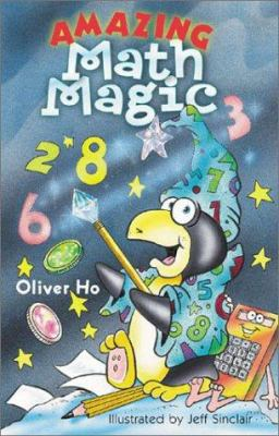 Cover image for Amazing math magic