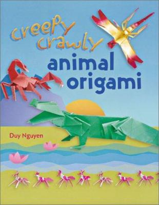 Cover image for Creepy crawly animal origami