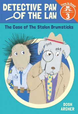 Cover image for The case of the stolen drumsticks