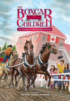 Cover image for The mystery at the Calgary Stampede