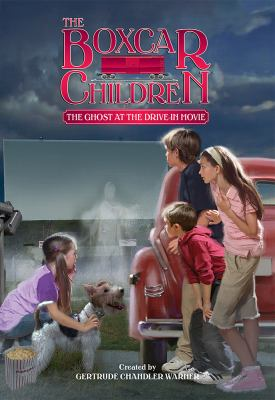 Cover image for The ghost at the drive-in movie