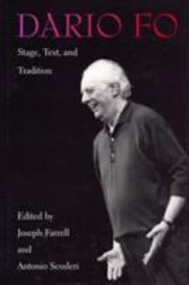 Cover image for Dario Fo : stage, text, and tradition