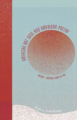 Cover image for American art song and American poetry